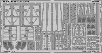Junkers JU 88 A-5 - Exterior [ICM] · EDU 48876 ·  Eduard · 1:48