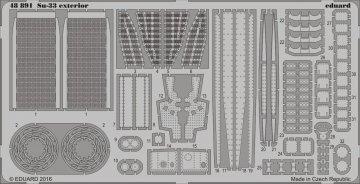 SU-33 Sea Flanker - Exterior [Kinetic] · EDU 48891 ·  Eduard · 1:48