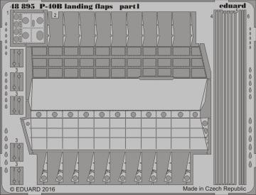 Curtiss P-40B - Landing flaps [Airfix] · EDU 48895 ·  Eduard · 1:48