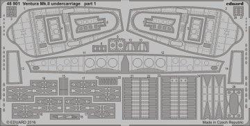 Ventura Mk.II - Undercarriage [Revell] · EDU 48901 ·  Eduard · 1:48