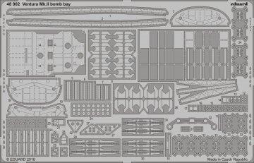 Ventura Mk.II - Bomb bay [Revell] · EDU 48902 ·  Eduard · 1:48