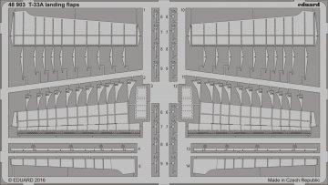 T-33A - Landing flaps [Great Wall Hobby] · EDU 48903 ·  Eduard · 1:48