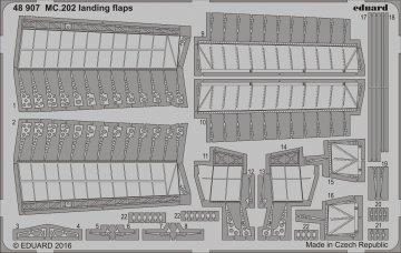 MC.202 - Landing flaps [Eduard] · EDU 48907 ·  Eduard · 1:48