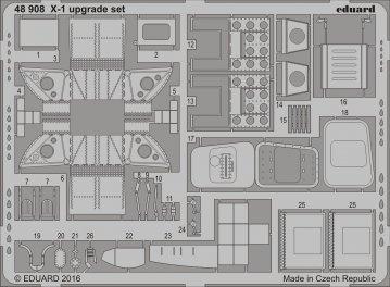 X-1 Mach Buster - Upgrade set [Eduard] · EDU 48908 ·  Eduard · 1:48