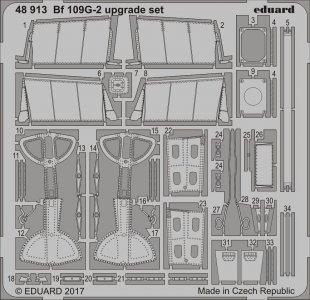 Messerschmitt Bf 109 G-2 - Upgrade set [Eduard] · EDU 48913 ·  Eduard · 1:48