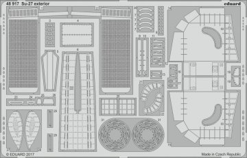 Su-27 Flanker B - Exterior [HobbyBoss] · EDU 48917 ·  Eduard · 1:48