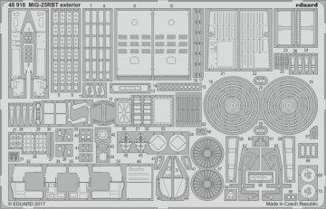 MiG-25 RBT - Exterior [ICM] · EDU 48918 ·  Eduard · 1:48