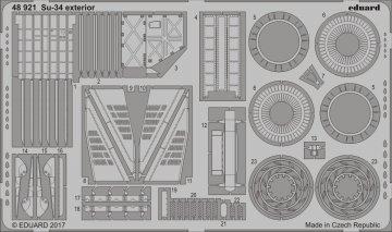 Su-34 - Exterior [HobbyBoss] · EDU 48921 ·  Eduard · 1:48