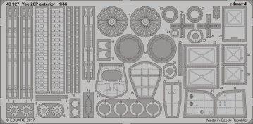 Yak-28P - Exterior [Bobcat Models] · EDU 48927 ·  Eduard · 1:48