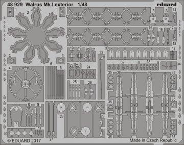 Walrus Mk.I - Exterior [Airfix] · EDU 48929 ·  Eduard · 1:48