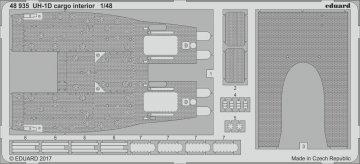 UH-1D Huey - Cargo - Interior [Kitty Hawk] · EDU 48935 ·  Eduard · 1:48