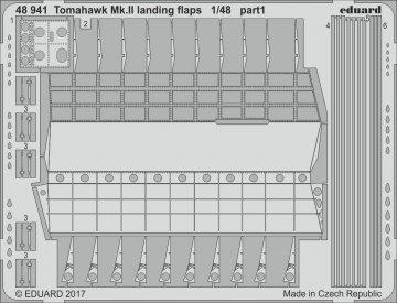 Curtiss Tomahawk Mk. II - Landing flaps [Airfix] · EDU 48941 ·  Eduard · 1:48