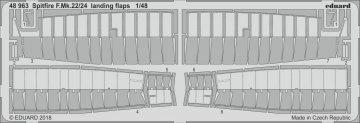 Spitfire F.Mk.22/24 - Landing flaps [Airfix] · EDU 48963 ·  Eduard · 1:48