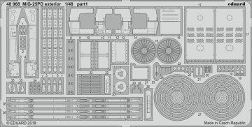 MiG-25PD - Exterior [ICM] · EDU 48968 ·  Eduard · 1:48