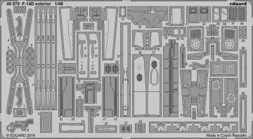 F-14D Tomcat  - Exterior [Tamiya] · EDU 48970 ·  Eduard · 1:48
