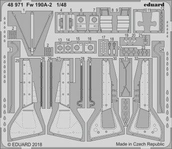 Focke-Wulf Fw 109 A-2 [Eduard] · EDU 48971 ·  Eduard · 1:48