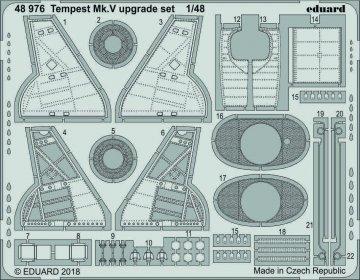 Hawker Tempest Mk.V - Upgrade set [Eduard] · EDU 48976 ·  Eduard · 1:48