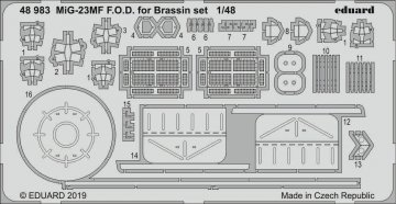 MiG-23MF - F.O.D. [Eduard] · EDU 48983 ·  Eduard · 1:48