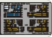 Color Seatbelts RAF late · EDU 49007 ·  Eduard · 1:48