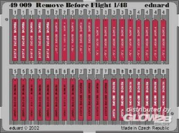 Remove Before Flight · EDU 49009 ·  Eduard · 1:48