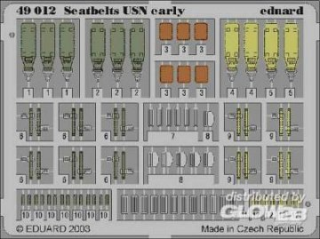 Seatbelts USN early · EDU 49012 ·  Eduard · 1:48