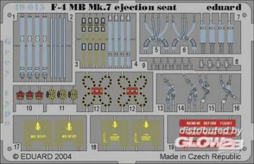 F-4 Phantom II MB Mk.7 - Ejection Seat Grey · EDU 49015 ·  Eduard · 1:48