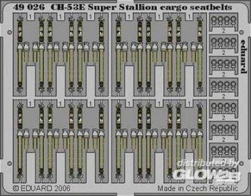 CH-53E Super Stallion cargo - Seatbelts [Academy] · EDU 49026 ·  Eduard · 1:48