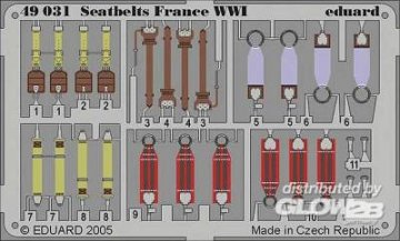 Seatbelts France WWI · EDU 49031 ·  Eduard · 1:48
