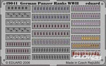 German Panzer Ranks WWII · EDU 49041 ·  Eduard · 1:48