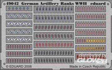 German Artillery Ranks WWII · EDU 49042 ·  Eduard · 1:48