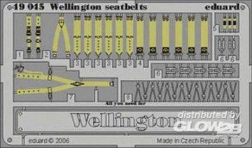 Wellington - Seatbelts [Trumpeter] · EDU 49045 ·  Eduard · 1:48