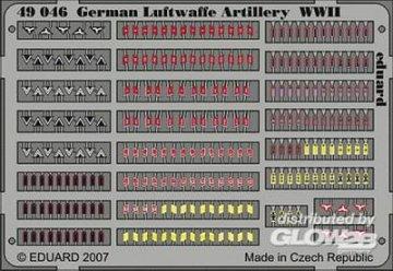 German Luftwaffe Artilery WWII · EDU 49046 ·  Eduard · 1:48