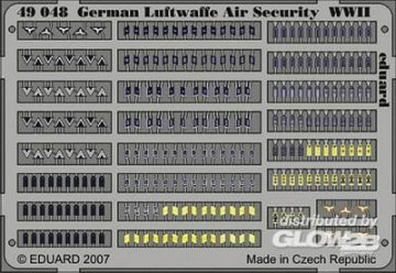 German Luftwaffe Air Security WWII · EDU 49048 ·  Eduard · 1:48