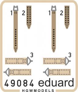 IJN - Seatbelts SUPERFABRIC · EDU 49084 ·  Eduard · 1:48