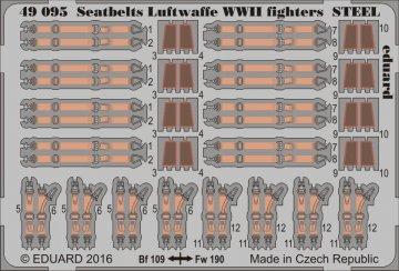 Seatbelts Luftwaffe WWII fighters STEEL · EDU 49095 ·  Eduard · 1:48