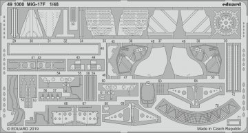 MiG-17F [HobbyBoss] · EDU 491000 ·  Eduard · 1:48