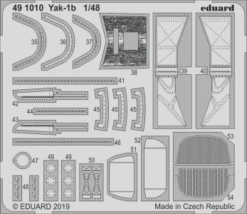Yak-1b [Zvezda] · EDU 491010 ·  Eduard · 1:48