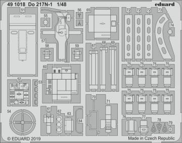 Dornier Do 217 N-1 [ICM] · EDU 491018 ·  Eduard · 1:48