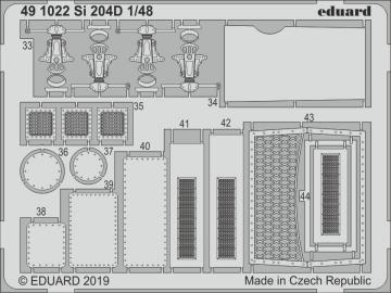 Siebel Si 204D [Special Hobby] · EDU 491022 ·  Eduard · 1:48