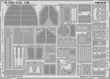 H-34 [Gallery Models] · EDU 491030 ·  Eduard · 1:48