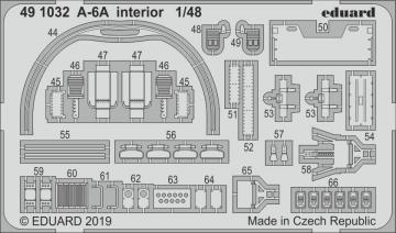 A-6A - Interior [HobbyBoss] · EDU 491032 ·  Eduard · 1:48