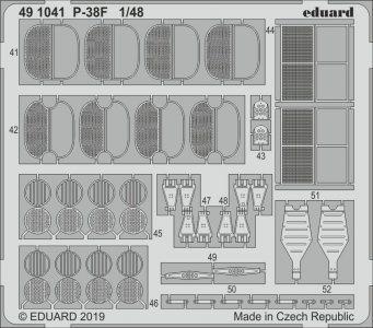 P-38F Lightning [Tamiya] · EDU 491041 ·  Eduard · 1:48