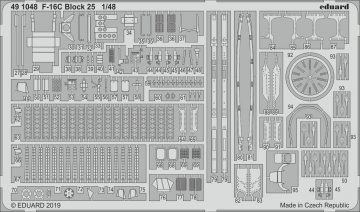 F-16C Block 25 [Tamiya] · EDU 491048 ·  Eduard · 1:48