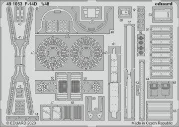 F-14D Tomcat [AMK] · EDU 491053 ·  Eduard · 1:48