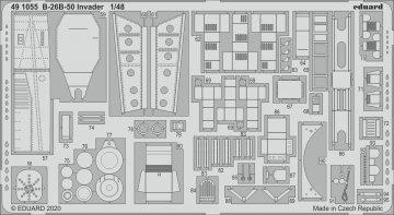 B-26B-50 Invader [ICM] · EDU 491055 ·  Eduard · 1:48