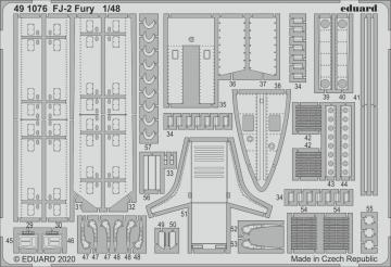 FJ-2 Fury [Kitty Hawk] · EDU 491076 ·  Eduard · 1:48