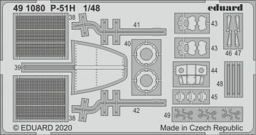 P-51H Mustang [Modelsvit] · EDU 491080 ·  Eduard · 1:48