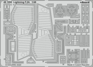 Lightning F.2A [Airfix] · EDU 491092 ·  Eduard · 1:48