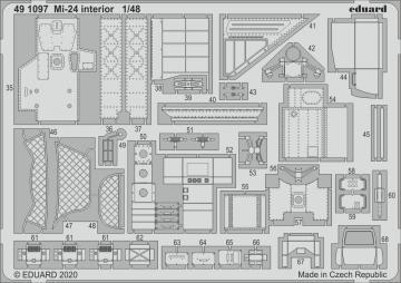 Mi-24 - Interior [Zvezda] · EDU 491097 ·  Eduard · 1:48