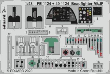 Beaufighter Mk.IF [Revell] · EDU 491124 ·  Eduard · 1:48